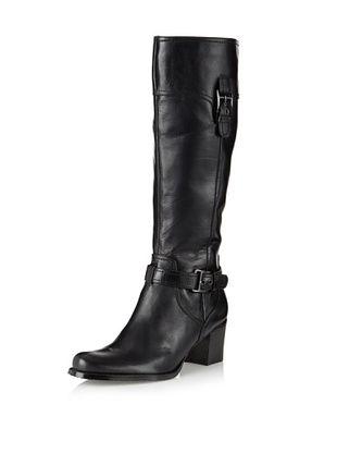 Adrienne Vittadini Footwear Women's Hero Knee-High Boot (Black)