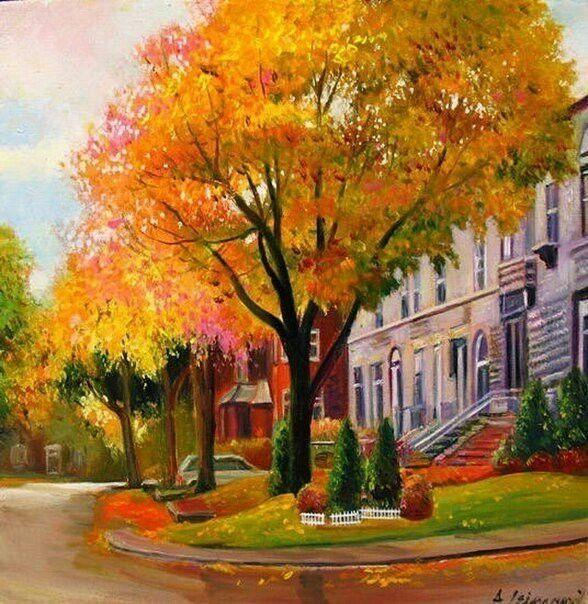 Картинки осень в моем городе