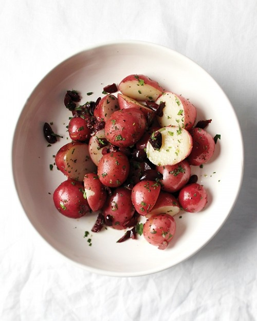 // Potato and Olive Salad