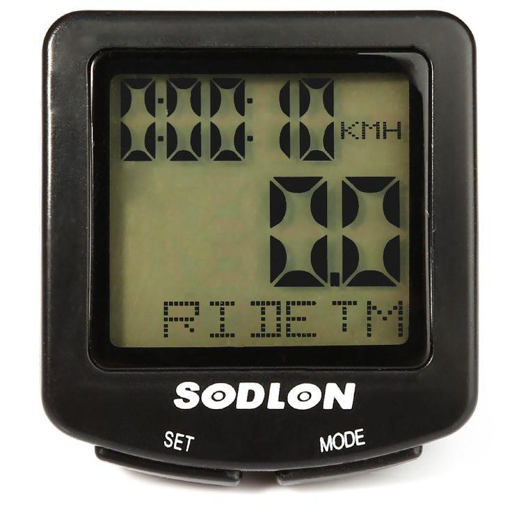 Sodlon SD-571 Filaire Ordinateur De Vélo Résistant À L'eau Vélo Accessoires Vélo Ordinateur Odomètre Compteur De Vitesse avec Rétro-Éclairage