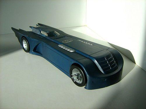 Batman The Animated Series Batmobile Toy Kenner toys - batman: the