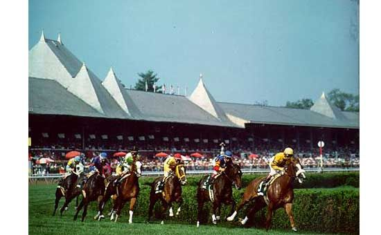 Saratoga Horse Racing  Saratoga Springs, New York Every year;)