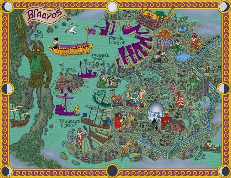 maps on pinterest braavos map game thrones