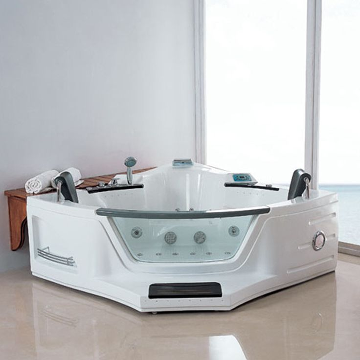 baignoire baln o d 39 angle v suve whirlpool 30 jets. Black Bedroom Furniture Sets. Home Design Ideas