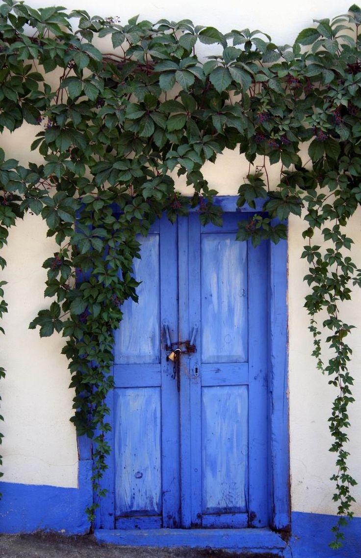 A blue door in Kas / Turkey