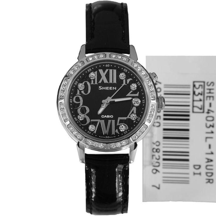 Casio, Sheen, Ladies watch, Diamond, Dress Watch, SHE-4031L-1AUDR, SHE-4031L-1A, mens watch, online offer, online sale
