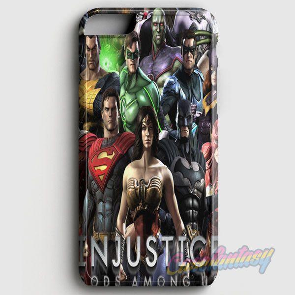 Injustice 2 Game iPhone 6 Plus/6S Plus Case | casefantasy