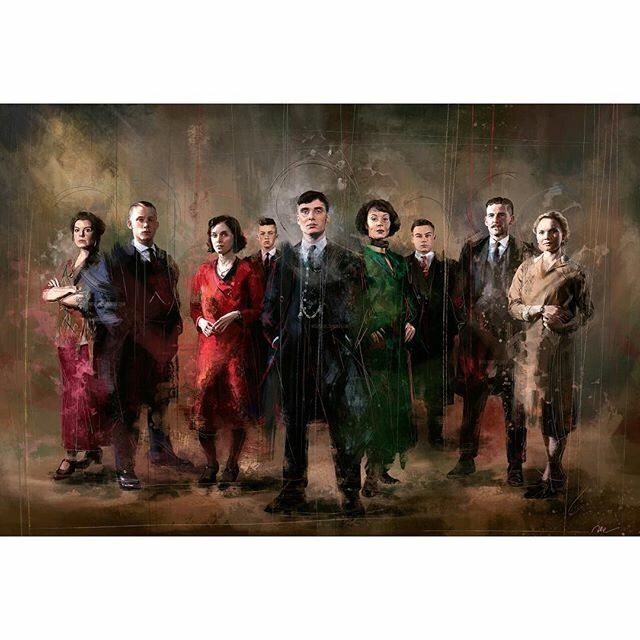 Shelby Family Portrait | Peaky Blinders