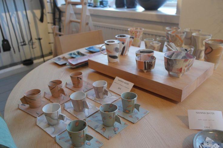 Eri muotoisia astioita #visitsouthcoastfinland #Fiskars #finnish #art #design #suomalainen #muotoilu #astia #tableware