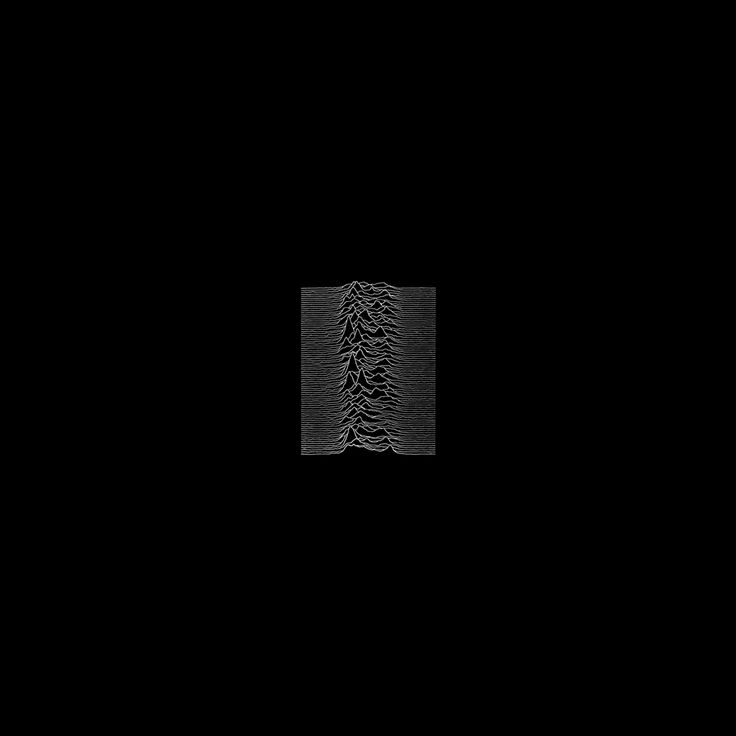 Joy Division 'Unknown Pleasures', Factory Records, 1979. Designed by Peter Saville and Chris Mathan.