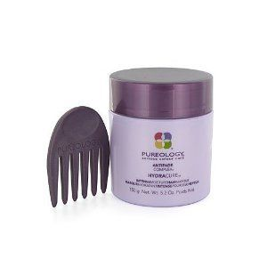 Hydra Cure Intense Moisture Hair Masque PUREOLOGY 5.2 oz Hair Mask For Unisex by Hydra Cure Intense Moisture Hair Masque. $40.00. 100% Genuine. Salon Professional hair care product. Brightens, boosts colour radiance and shine with t