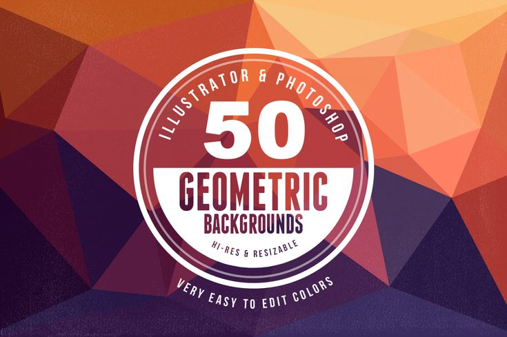 Dealjumbo.com — Discounted design bundles with extended license!   Geometric/Polygon Backgrounds & Shapes