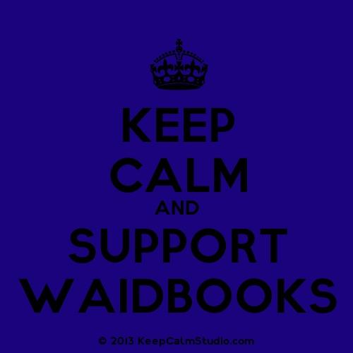 support waid books!