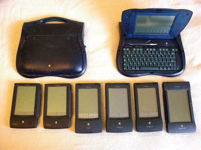 Apple's Newtons lineup