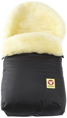 Fareskind Baby Go Cozy Sheepskin Bunting Bag Black 012 Months ** Find out more about the great product at the image link.Note:It is affiliate link to Amazon. #liker