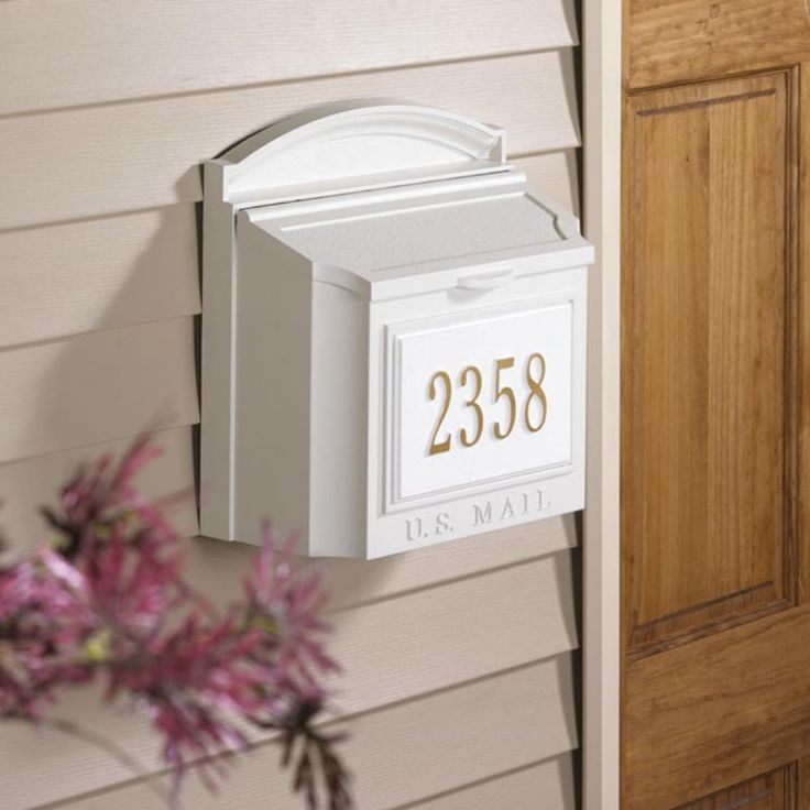 Best 25 Wall mount mailbox ideas on Pinterest Stainless steel