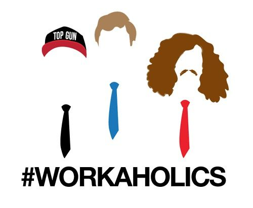 WorkaholicsWorkaholics, Favorite Things, Blake Tshirt, Awesome, Coolers, So Funny, Peanut Butter, Entertainment, Baby Stuff