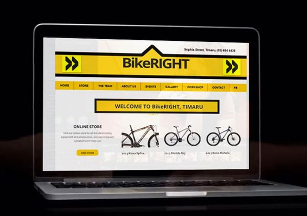 Bike Right - eCommerce