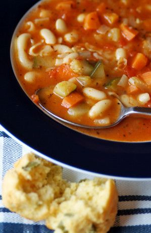 Uncle Bill's Vegetarian Minestrone Soup
