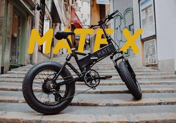Mate X Full Loaded Folding Electric Bike Folding Electric Bike