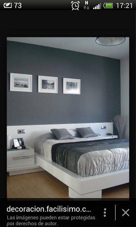 De que color pintar la pared del cabezal. | Decorar tu casa es facilisimo.com