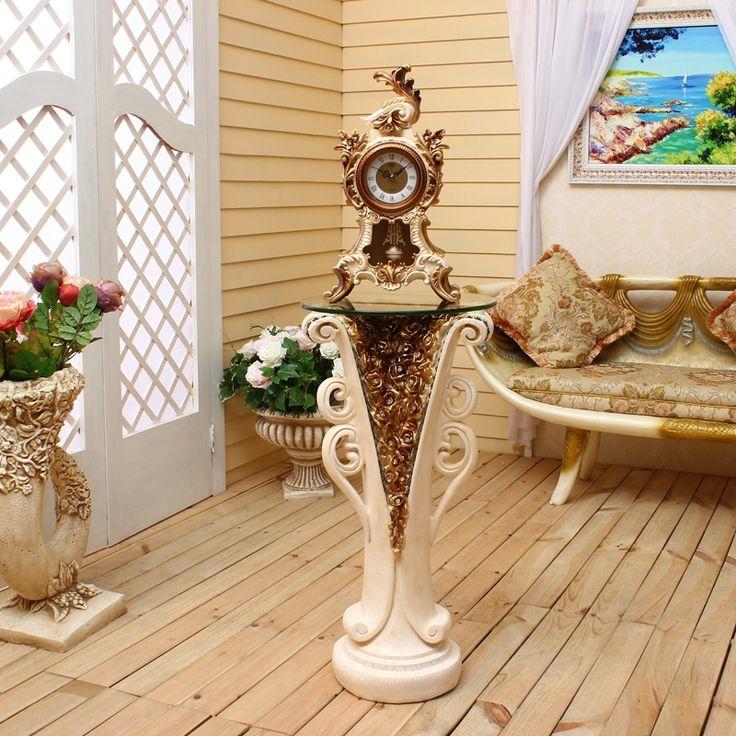 Lai Sheng mute Euroopan retro kellon saliin kello luovia muoti kellot työpöytäkellon kaappikello seisoo de-in Floor Kellot kotoa & Garden Aliexpress.com | Alibaba Group