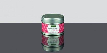 Matcha Shake Cherry, Té verde molido con aroma de cereza lleno de antioxidantes