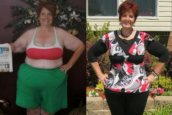 Isagenix Before & After - Lesa S. #weightloss