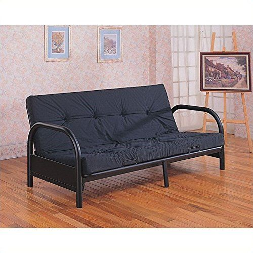 Coaster Metal Full Size Futon Frame With Small Armrest In Black. Futon  Living RoomsLiving Room FurnitureCool ... Part 93