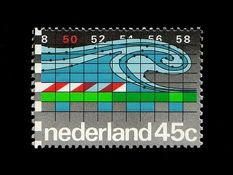 Dutch stamp.