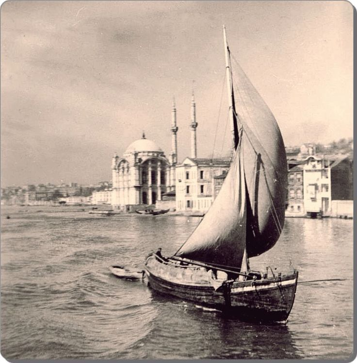 ORTAKOY MOSQUE: was built by (Armenian Architect) Nigogos Balyan, in Baroque-style for Sultan Abdulmecit, between 1854-1855, in Istanbul. Nigogos new style was tried in This mosque and Dolmabahce Mosque. 1931