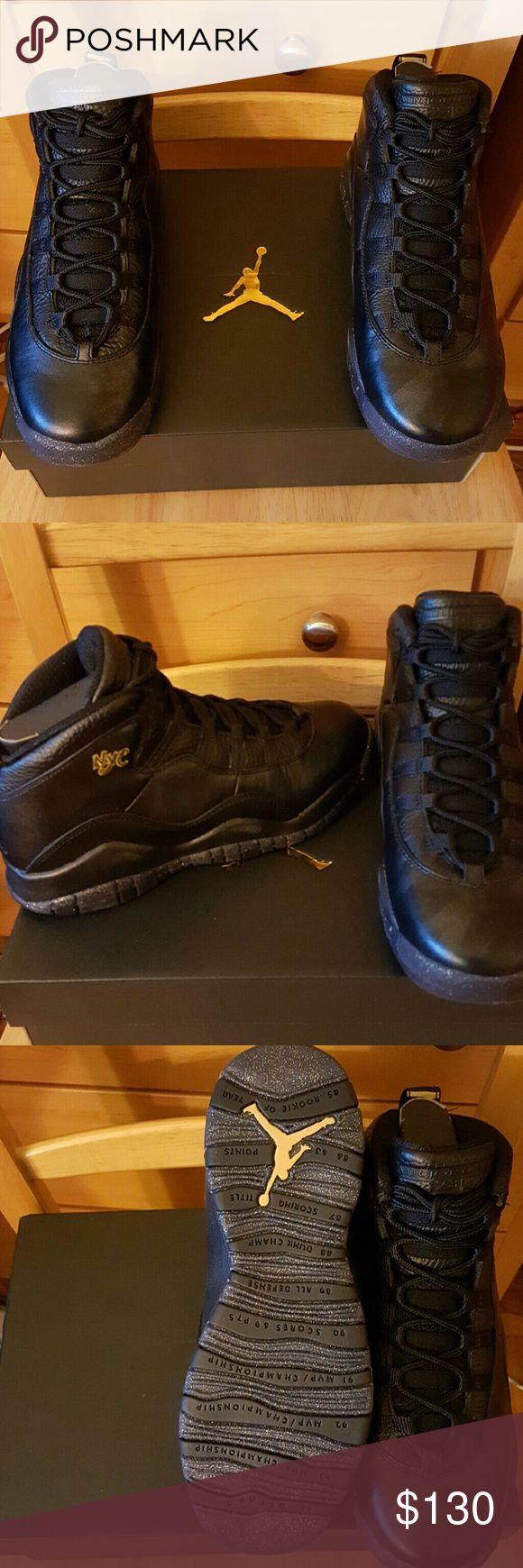 FINAL DROP* BRAND NEW NIKE AIR JORDAN RETRO 10 Brand new Air Jordan retro 10 in black and gold Air Jordan  Shoes Sneakers