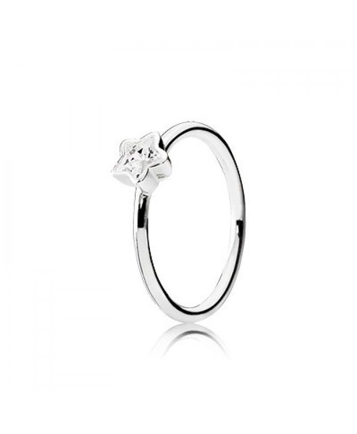 this Pandora Silver Star Ring is special,especial the five pointed star.