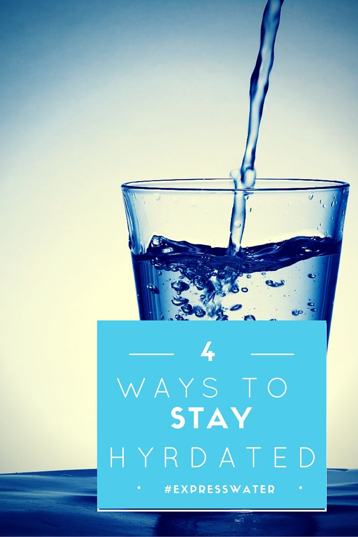 How to Make Hydration a Habit #ExpressWater #StayHyrdated #Healthy #Habits
