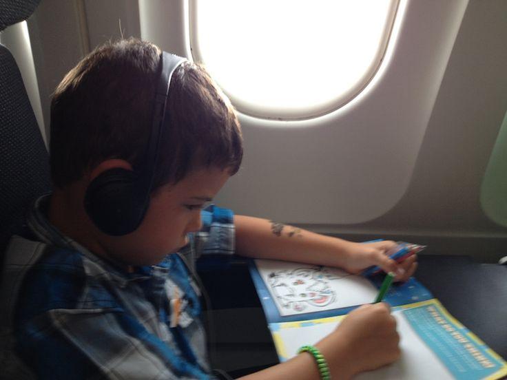 Surviving Long Haul Flights with kids