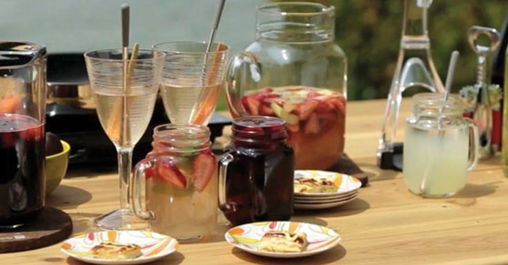 Cottage sangria? Great idea! Anna Olson shares some of her favourite cocktail recipes. http://bit.ly/1JxF2AA