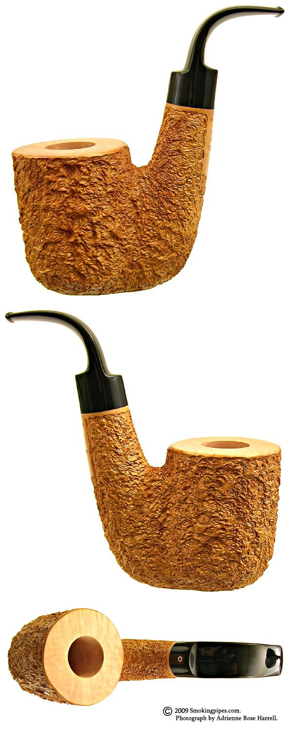 Ardor Tobacco Pipes: Urano Giant Rusticated Oom Paul