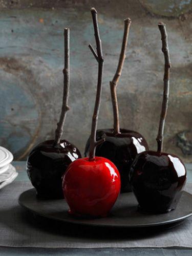 Decadently Dark Candy Apples Recipe