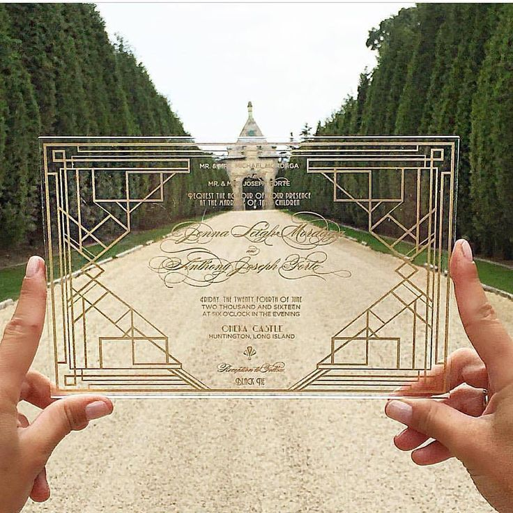 Brace yourself for a unique and exquisite wedding invitation idea from @durantenewyork!