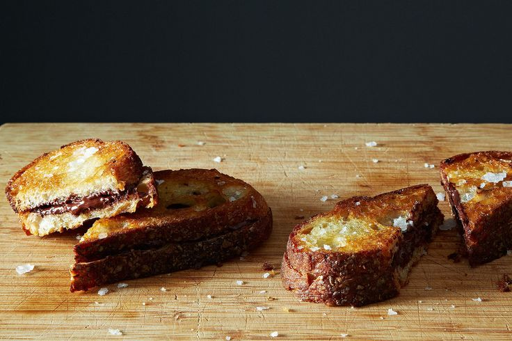 Alice's Grilled Chocolate Sandwiches on Food52: http://f52.co/1pjKuM7. #Food52