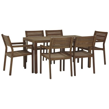 Portsea 7 Piece Dining Package | Freedom Furniture and Homewares $999 #freedomaustralia