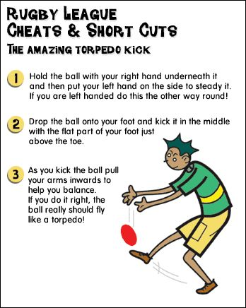 The amazing torpedo Rugby Kick tutorial