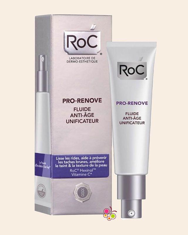 ROC Pro-Renove Anti-Ageing Unifying Fluid Cream Yaşlanma Karşıtı Likit Krem 40 ml