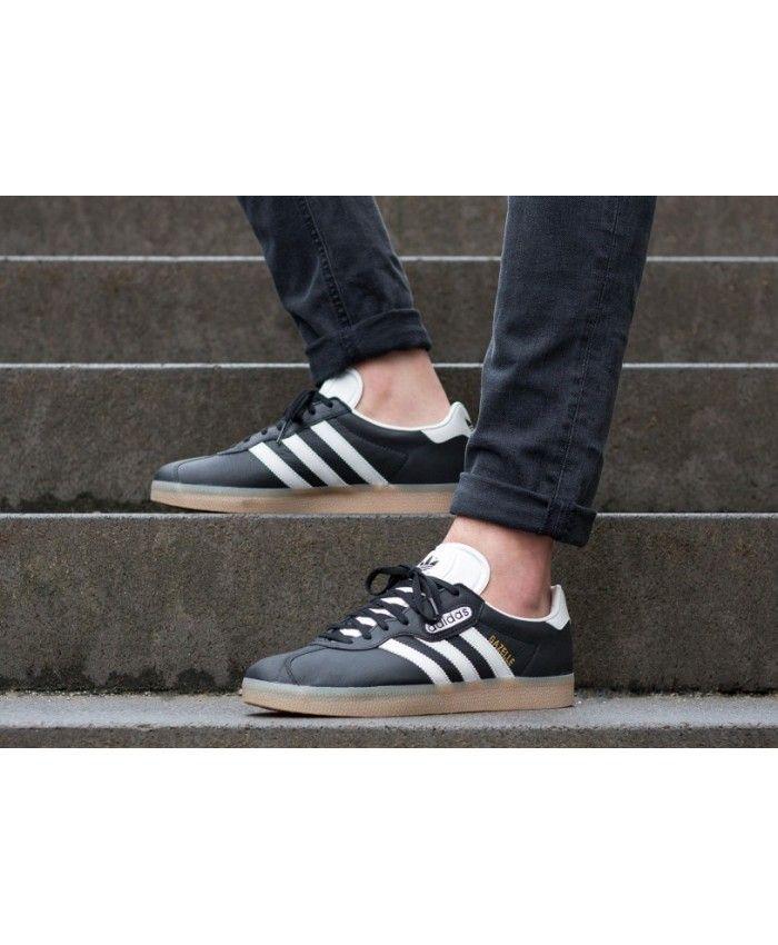 Adidas Gazelle Trainers | Core BlackVintage White | BB5491