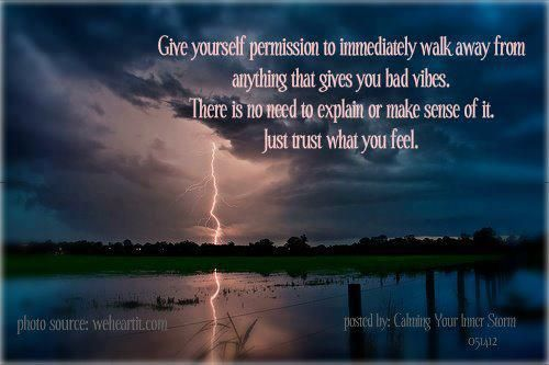 bad vibes? walk away.: Snarkiness Oth Quotes