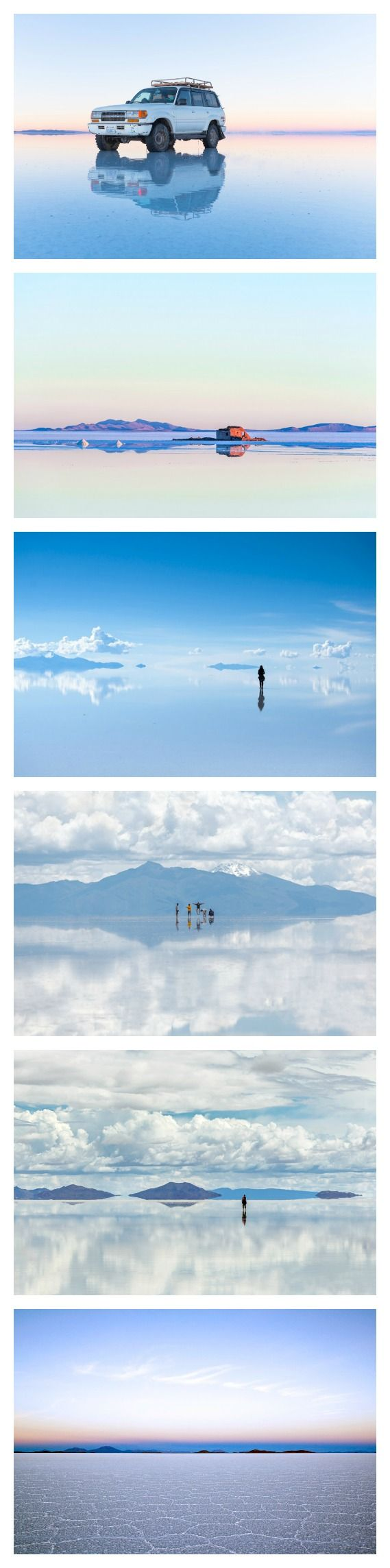 Bolivia's Salt Flats Are the Closest You'll Get to Heaven on Earth || Experience them for yourself on one of our South American projects https://www.questoverseas.com/gap-quest/
