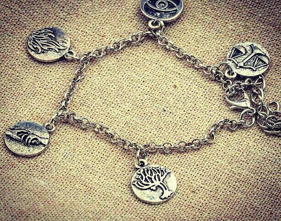 Allegiant, divergent, insurgent themed bracelet