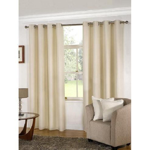 Cream Eyelet Curtains 90 X 54 Homeminimalis