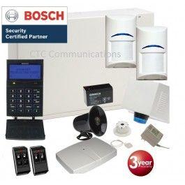 Bosch Solution 6000 Alarm System with 2 x Wireless Tritech PIR Dectectors + Prox…