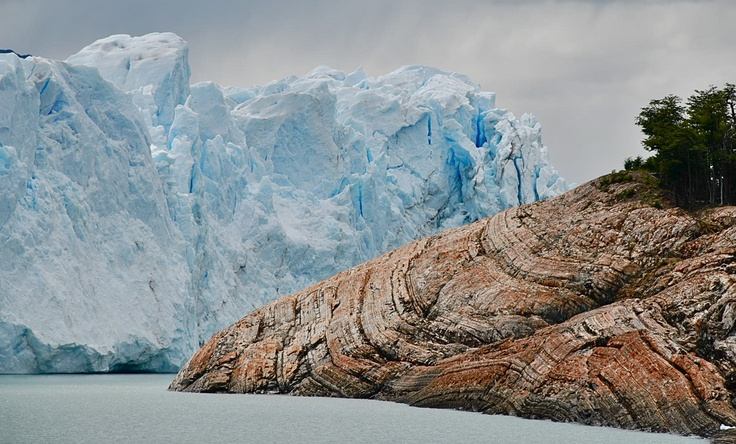 The Perito Moreno Glacier.